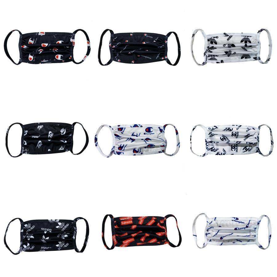 12 Styles Masque Anti-poussière respiratoire Masques Valve réglable lavable réutilisable Masques bouche respirant PM2,5 Masques Camo CYZ2477 # 817