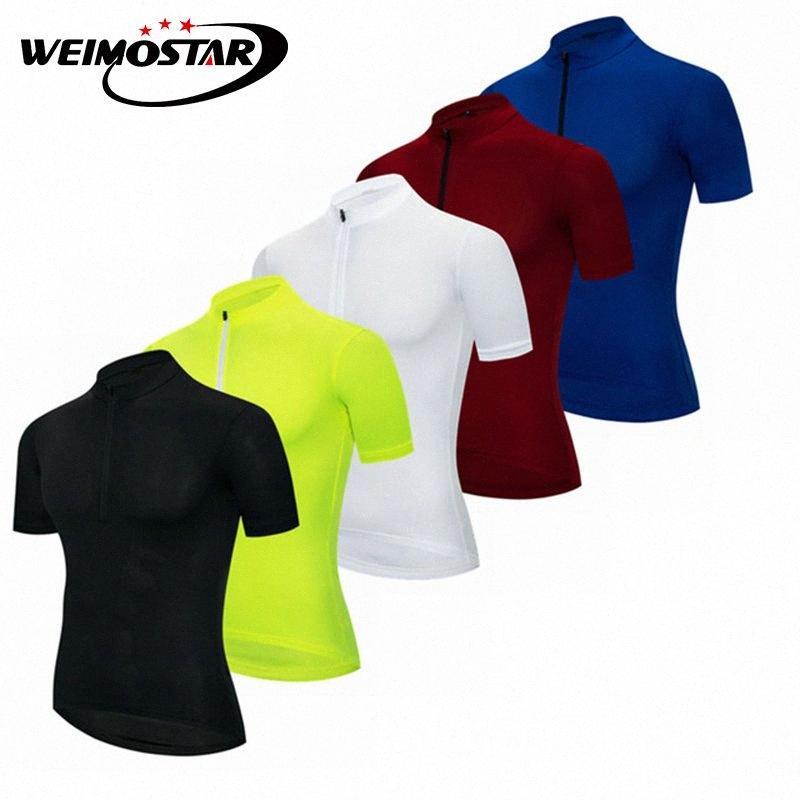 Jersey Weimostar Hombres Jersey de ciclo de descenso Ropa ciclismo bicicleta de ciclo camisetas ropa seca rápido 6Ro6 #