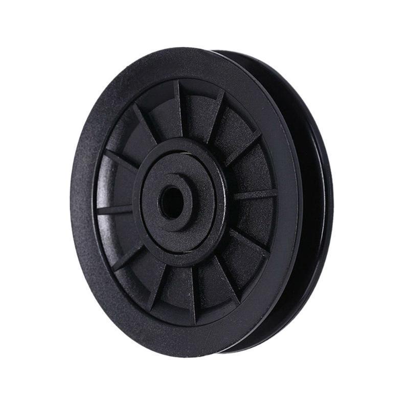 Fitness Equipment Universal Polia Roda Gym Seguro Durable redonda desgaste Cable Parte Resistência Nylon Bearing Waterproof