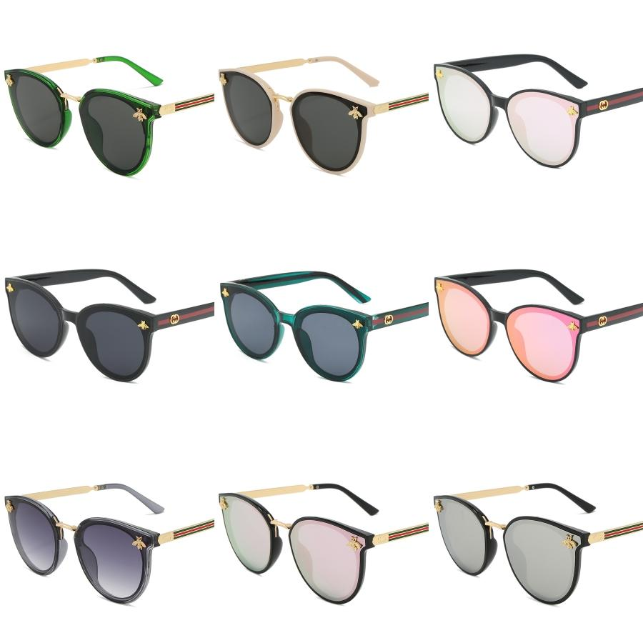 Bunte Sonnenbrillen Männer und Frauen polarisierte Sonnenbrille sicheres Fahren Entspiegelung Sunglass Brille männlich SunGlasses UV400 6 Farbe # 660