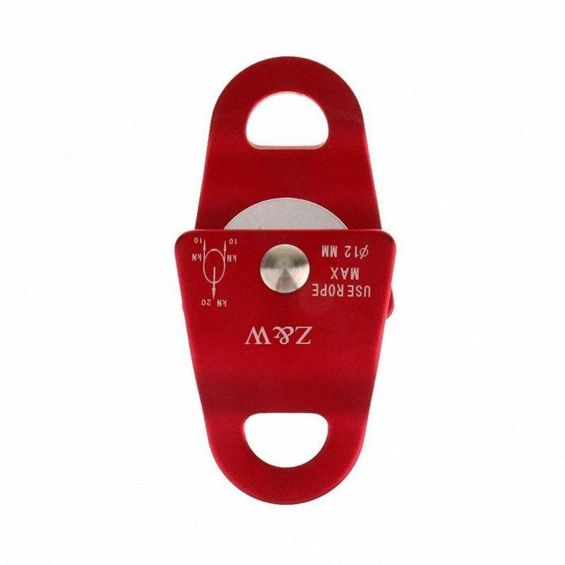 Aluminum Alloy 20 KN Universal Use Small Mobile Pulley For Climbing Rope 12mm nZl3#