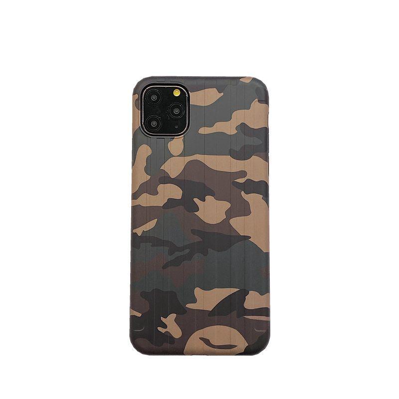 P01 caso cor camuflagem para iphone11 pro tampas traseiras max