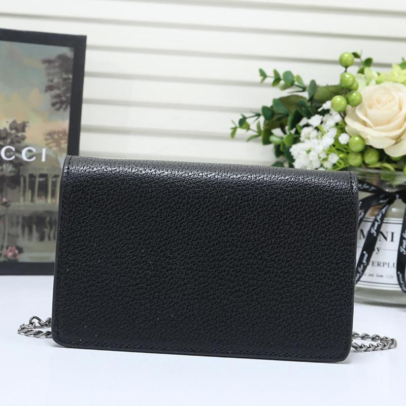 L'alta qualità delle donne di cuoio del Mini borse a spalla Drop Ship Modo signore di Crossbody Bag Donna di lusso della catena Messenger Bags Vendita