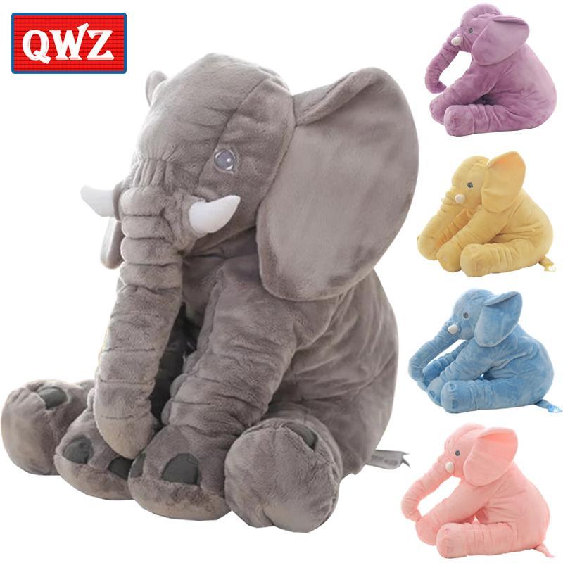 2020 QWZ 40/60cm Infant Plush Elephant Soft Appease ...