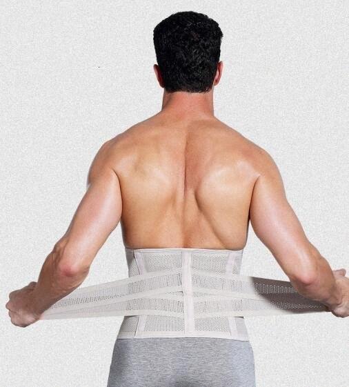 1pcs supporto della vita dell'addome protettore legame sottile cintura in vita lo sport respirabile QfFT #