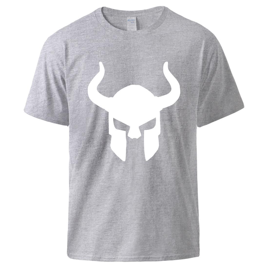Odin Vikingler Man Tişörtlü Anarchy Serin Hip Hop Kısa Kollu Spor Üst Erkek Casual Tee Of 2020 Yaz% 100 Pamuk Tee Sons