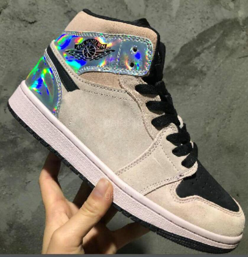 Designer Luxury Brand Jumpman J1 scarpe MID 1S pallacanestro di sport casual Calzature Uomo Des Chaussures Zapatos 7-12 A8