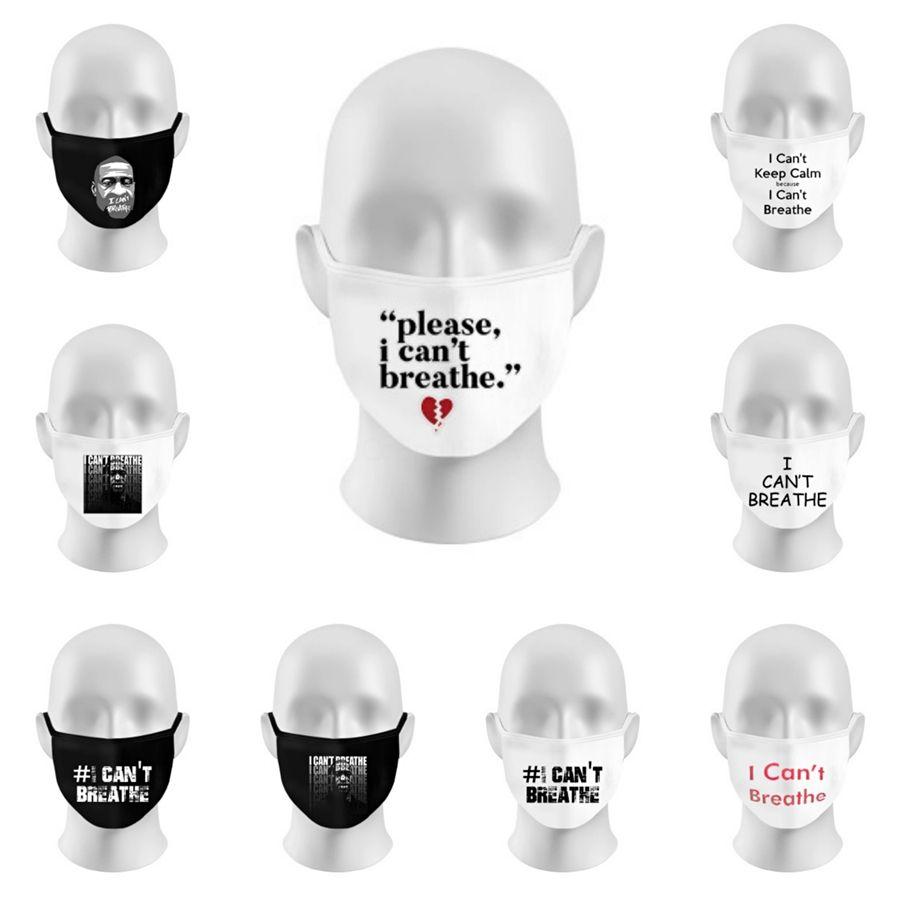 Designer Maschere Lettera faccia con respirazione valvola antipolvere Splash Proof Anti-Particolato Maschera il 95% di filtrazione Shippi libero # 613
