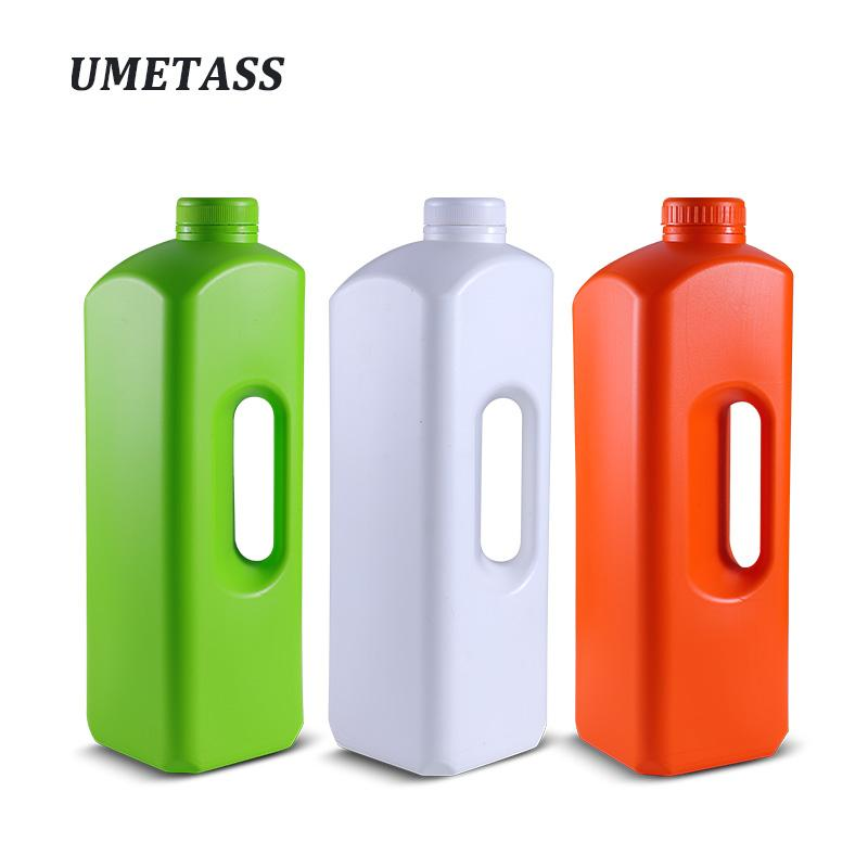 UMETASS 1000ML,1800ML Empty Plastic sauce Bottle with lid Ketchup Salad Jam Oil container BPA free 1 piece
