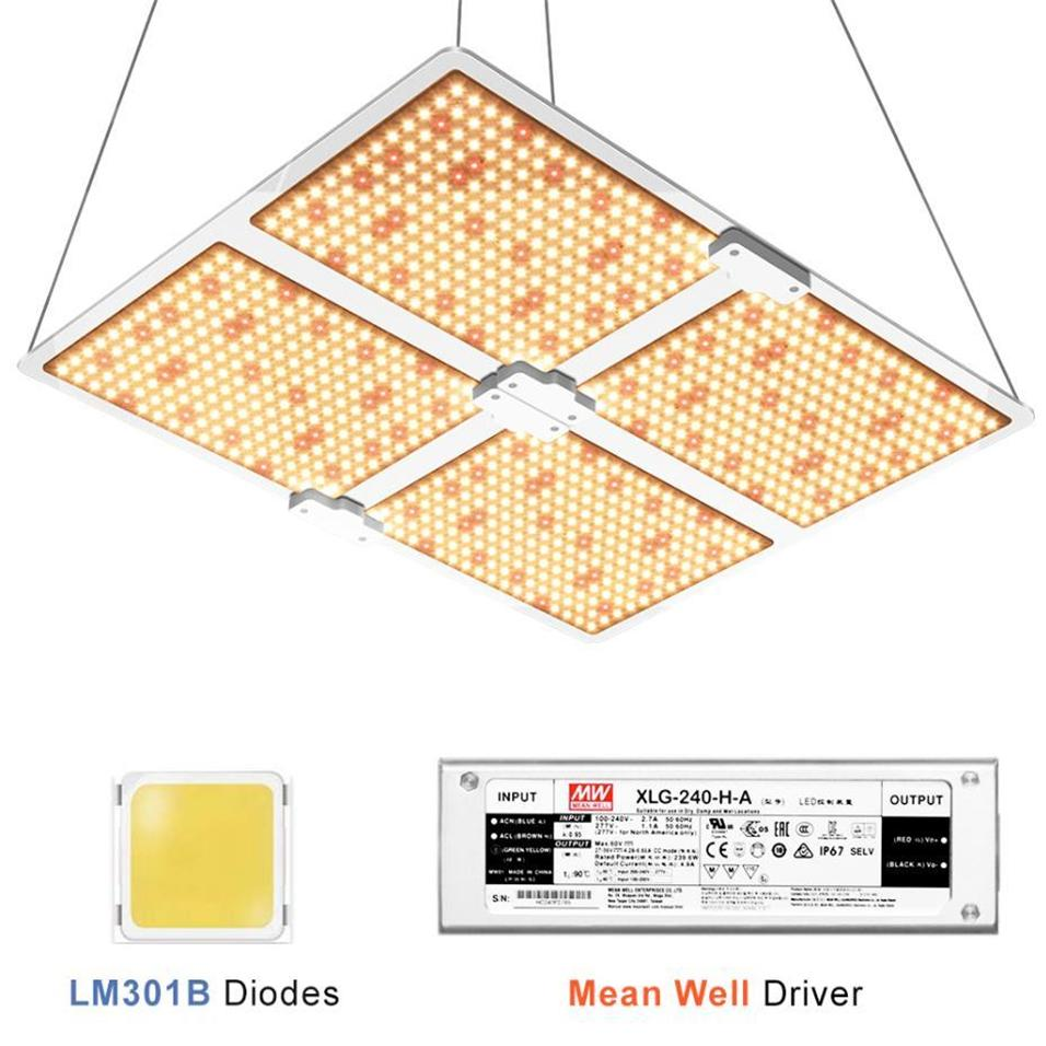 Full spectrum Samsung led grow light 2000W 4000W with LM301B QB234Pcs 3000K Chips and UL Meanwell driver indoor planting