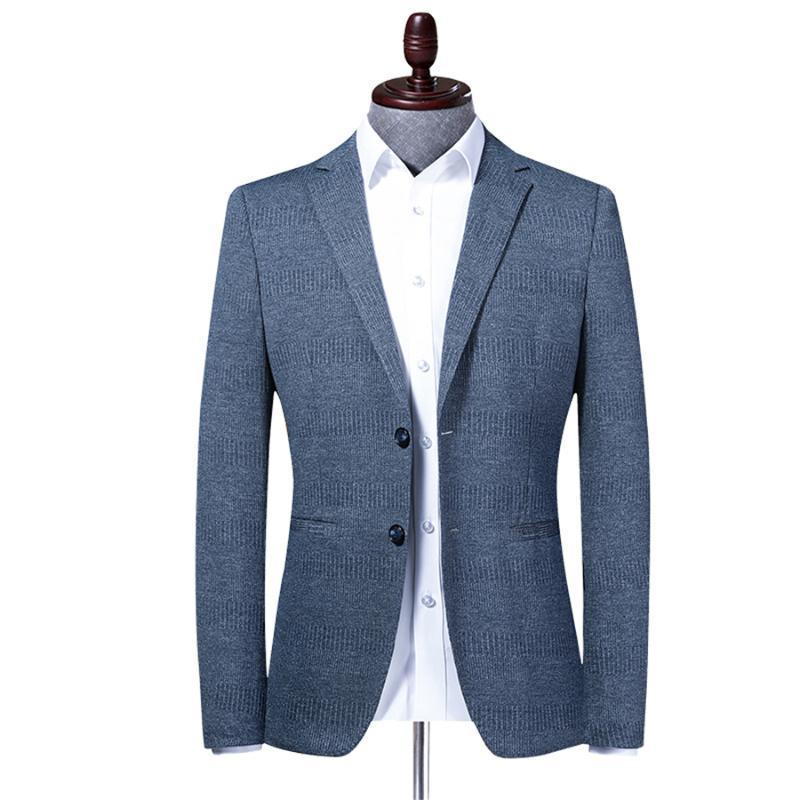 Vestito 2020 Uomo Primavera Autunno nuovo di alta qualità Slim vestito degli uomini Blazer maschile Abbigliamento casual Affari M-4XL