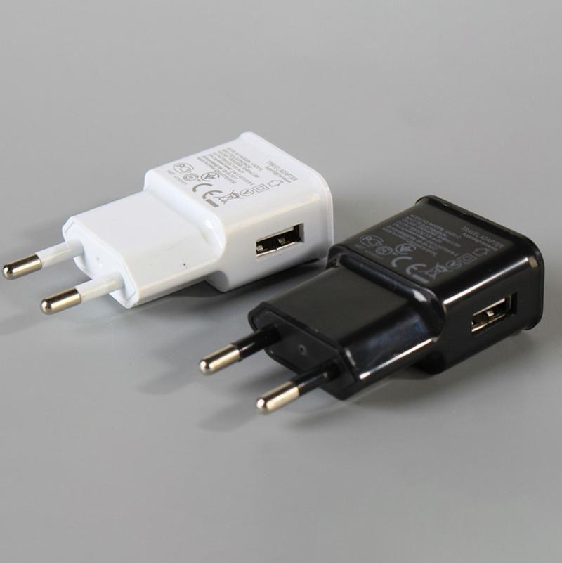 Cargador de pared de alta calidad adaptador de viaje 5V 1A de EE.UU. enchufe de la UE del USB para el teléfono inteligente del cargador de la tableta directa