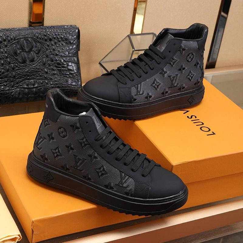 Neue Ankunftmens-Schuh-Tropfen-Schiffs-Herbst-und Winter-Schuhe Weinlese-Designer High Top Plus Size Sport Herren Schuhe Herren Luxus Marken Schuhe