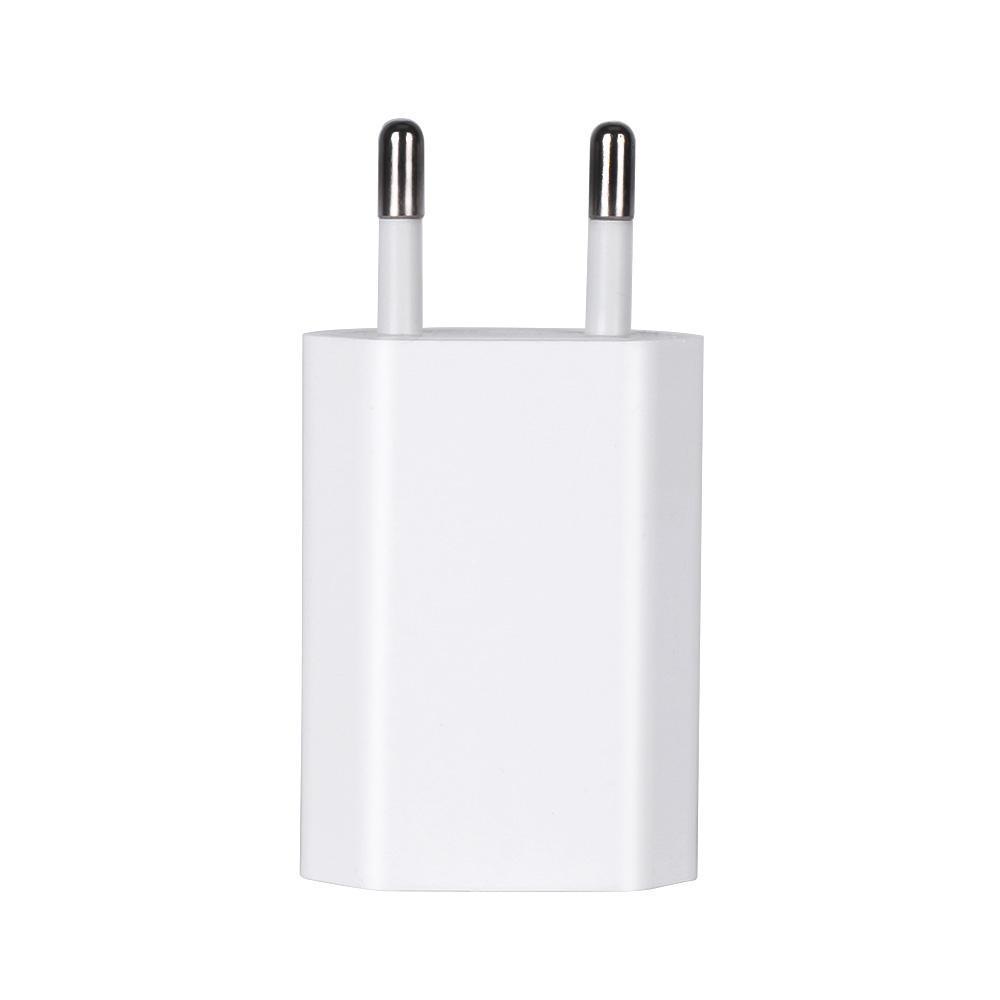 제품과 함께 OEM 품질 5V 1A 5W 미국 / EU / AU 플러그 어댑터 USB AC 전원 충전기 벽 어댑터 A1385 A1400