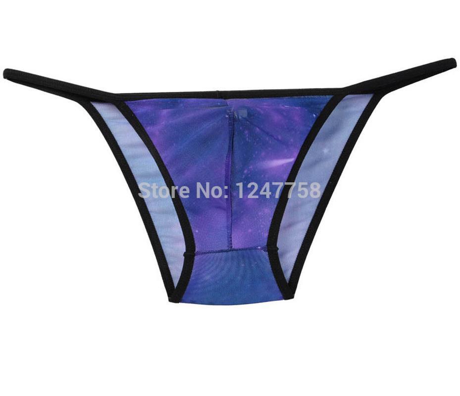 Calzoncillos Sexy Men's Colorful Mini Mini Skets Bulge Bulge Bouch Soft Thong