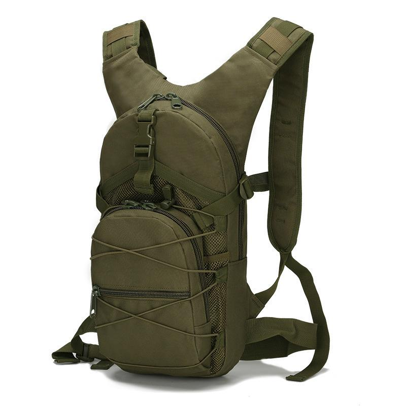 Outdoor passeio bagagem camuflagem do exército Fãs Waterproof Oxford pano pequeno Mochila Homens Outdoor portátil ombro Tactical Backpack
