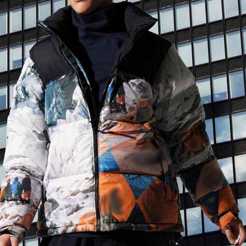 Mejor nieve caliente Mountain Camp Nuptse chaquetas de invierno al aire libre a prueba de viento abrigos pan por la chaqueta Calle Outwear HFYMJK331