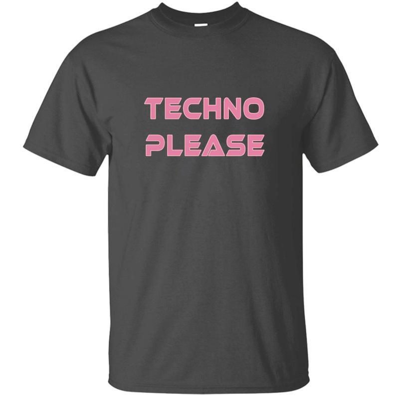 Печать Techno Rave Пожалуйста Музыка Танец Electro Xtc T Рубашка мужской Юмор смазливых Черная Мужской Мальчик Девочка футболки HipHop Tops
