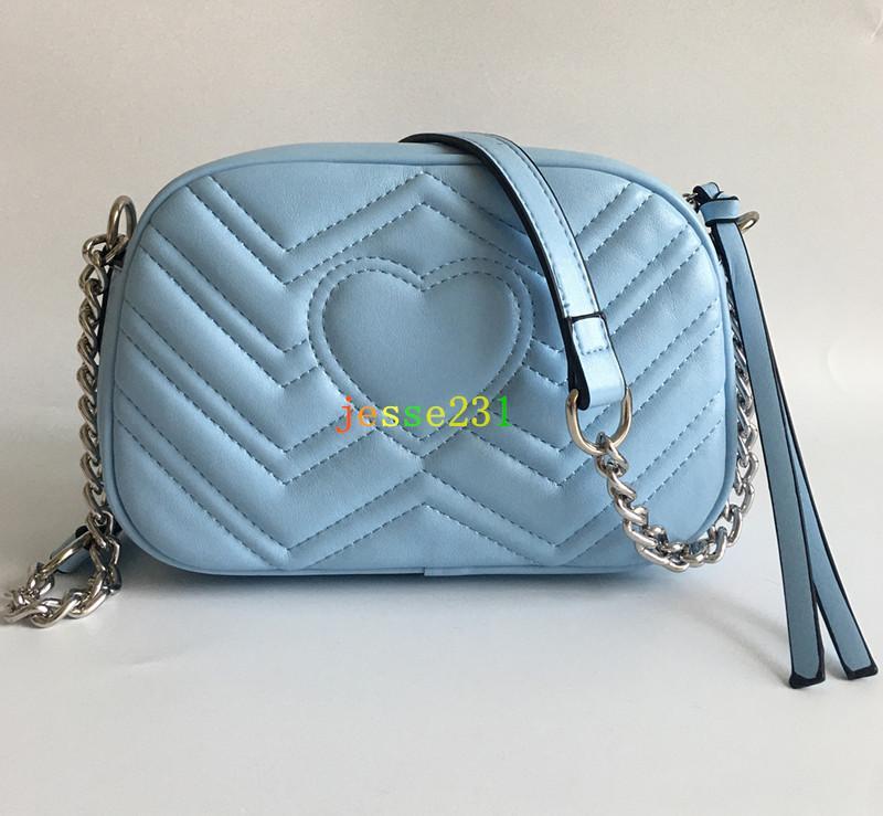 Haute Qualité New Style Femmes sacs à main en argent chaîne Sacs à bandoulière Sac à bandoulière Soho Disco Messenger Bag Purse Wallet 7 couleurs en stock
