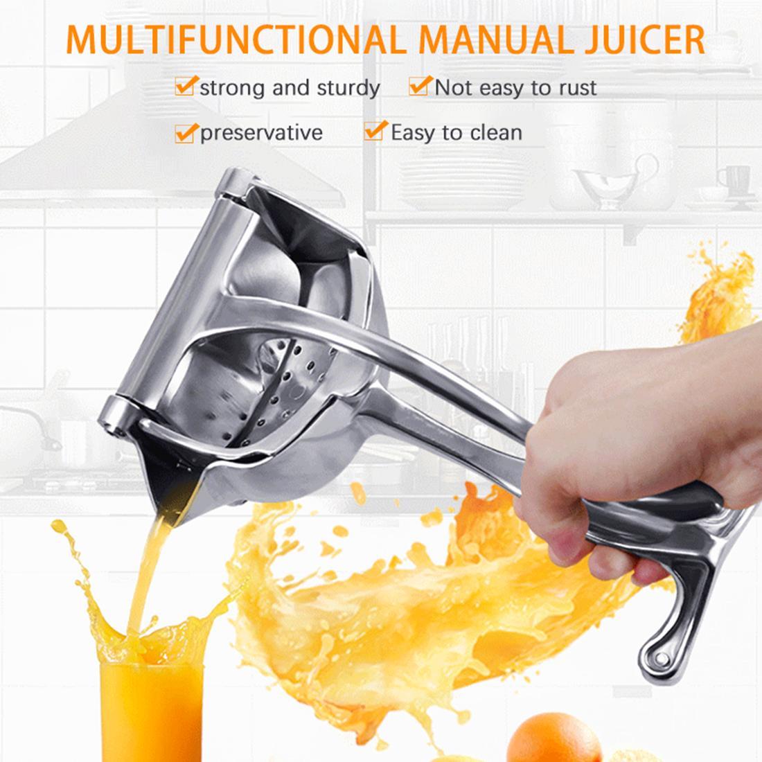 Big Manuel Juicer- en alliage d'aluminium Nut Fruit Citron orange squeezer outil extracteur facile à utiliser