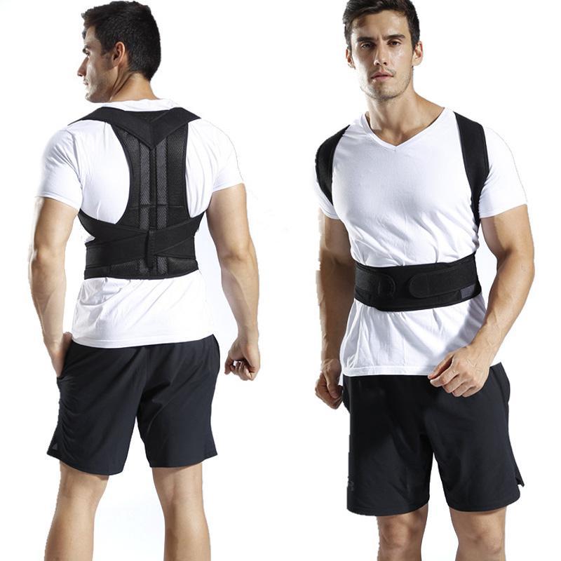 New Back Posture Corrector Adjustable Shoulder Strap Magnetic Therapy Lumbar Brace Support Belt Shoulder Posture Correction 5XL