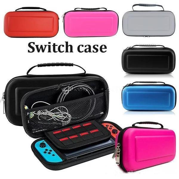 Carry Case Box avec poignée pour Nintendo Console Switch Jeu dur de protection Sac EVA protection rigide Voyage étui de transport Epacket ou DHL