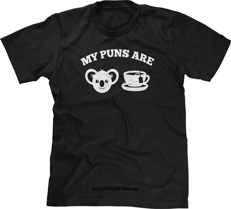 T-Shirt Mein Puns Are Koala Tea Herrenmode T-Shirt