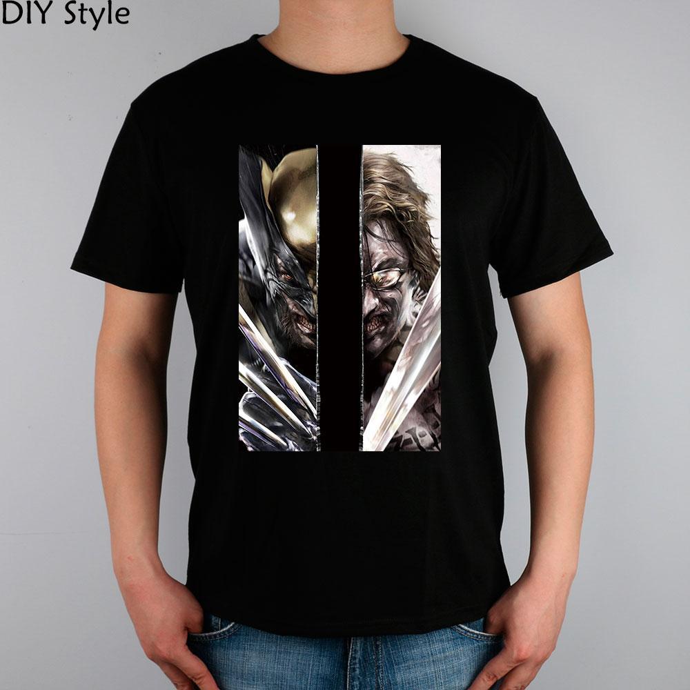 ART XMEN T-shirt in cotone lycra top 11044 di marca di modo uomini della maglietta nuovo di alta qualità di stile DIY