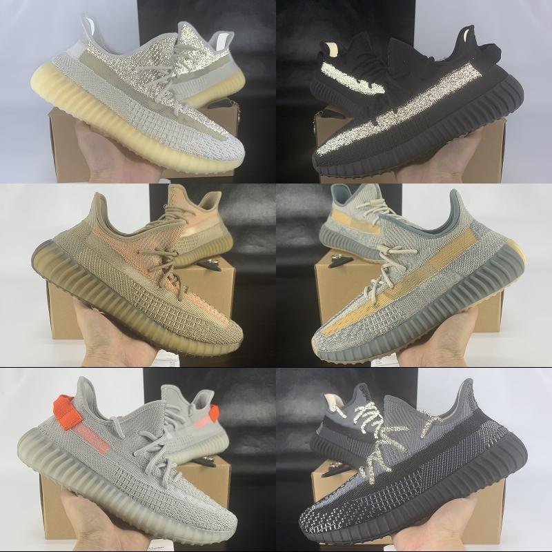 Kanye des femmes des hommes chaussures de course New Color Éliada Abez Oreo Israfil Asriel statique de noir Cinder Lin Yeshaya formateurs réfléchissant Sport