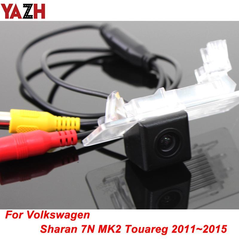 For Volkswagen VW Sharan 7N Touareg 2011~2015 DVD Radio Rear View Cam Reversing Backup Camera Car Backup Night Vision Camera