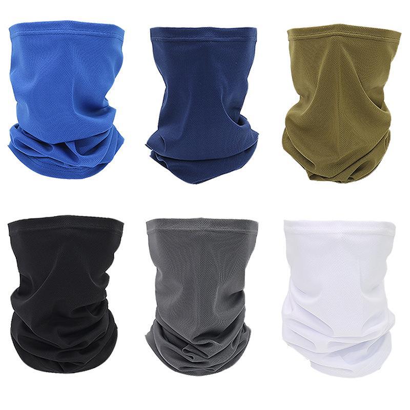 Polyester Mask Bandeau Bandeau Cyclisme Pêche Bandeau Magic Sport Multi-Fonctionnement Sunscreen Echarpe d'extérieur Ifjfu