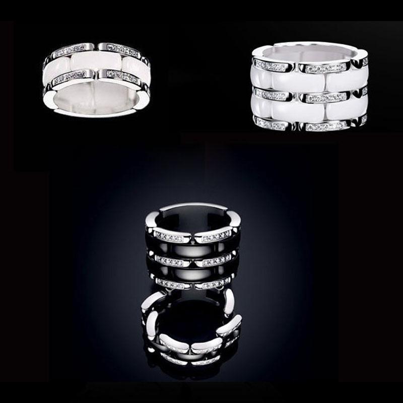 stelle 2019 anello uomo donna cinturino in stile paio paio anello in ceramica indice street punk in acciaio inox