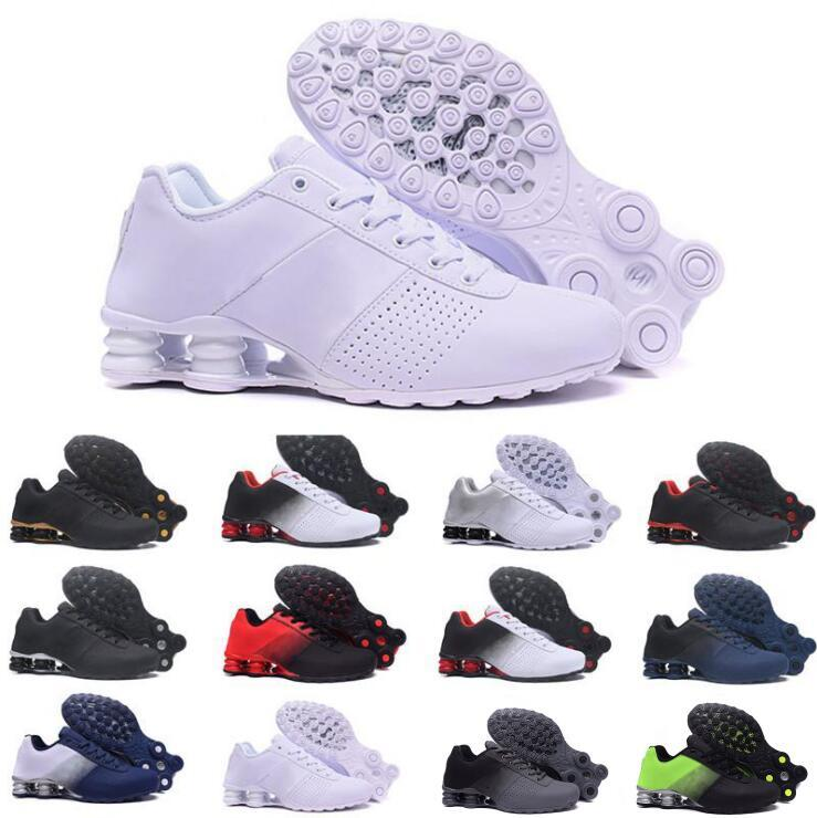 2020 société shox pas cher offre 809 chaussures de sport pour hommes célèbres oz chaussures de sport blanc bleu NZ noir U.S.A. 5,5 à 12