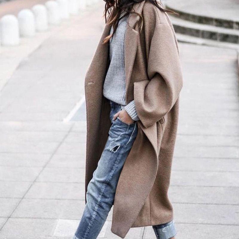Gu Yi CoatCoat 2020 nueva larga caliente Gu Yi CoatCoat caliente de 2020 mujeres largas calientes de las nuevas mujeres calientes