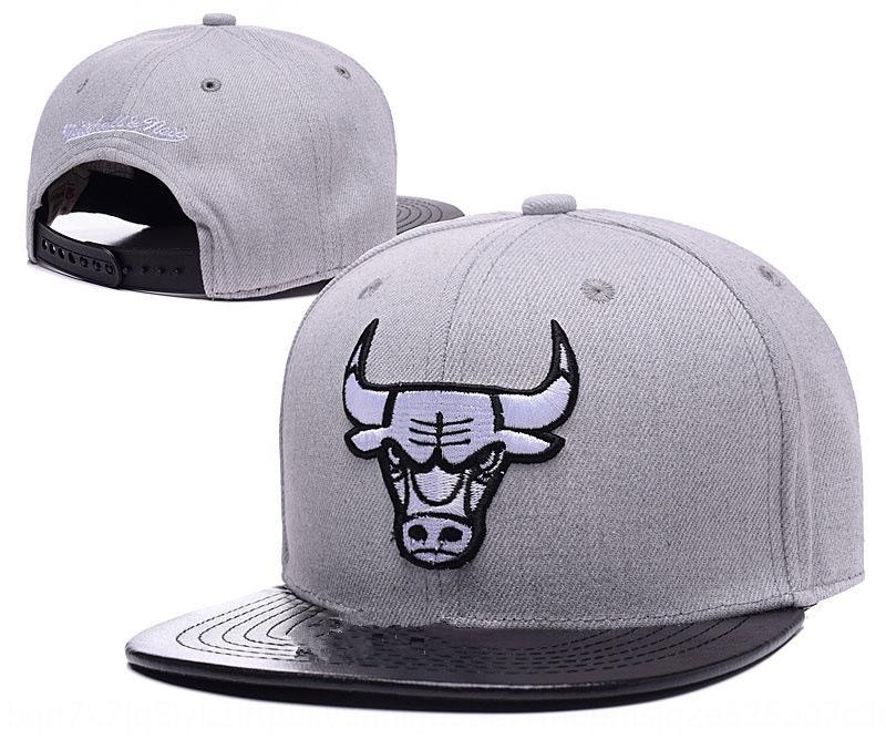 Nouveau mode taureau basket équipe hip cap basket plat top cap hop chapeau plat chapeau de soleil occasionnels hommes et femmes