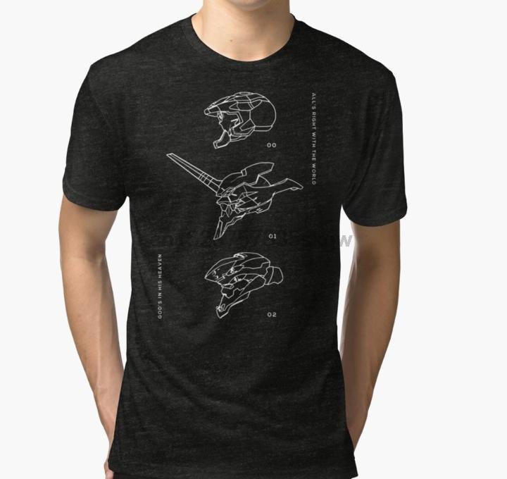 Männer T-Shirt EVA-Einheiten-T-Shirt Bedruckte T-Shirt T-Shirt oben