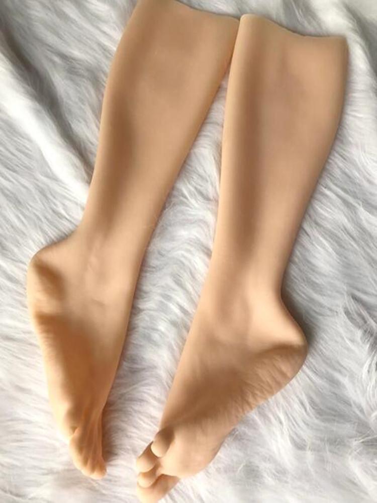 37 yard TPE yüksek kalite gerçek eldiven unisex ayak manken vücut sihirli protez sahne silikon takı tıbbi kozmetoloji D107