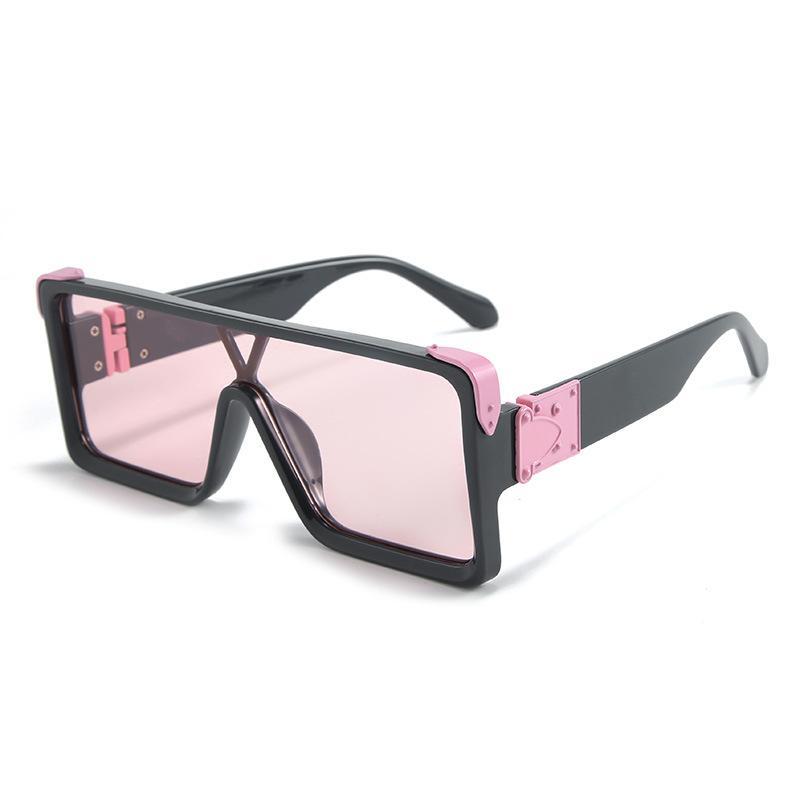 « nouvelles lunettes de soleil de mode pour hommes de plage avec des femmes PC plein cadre des lunettes de soleil UV400 carrés