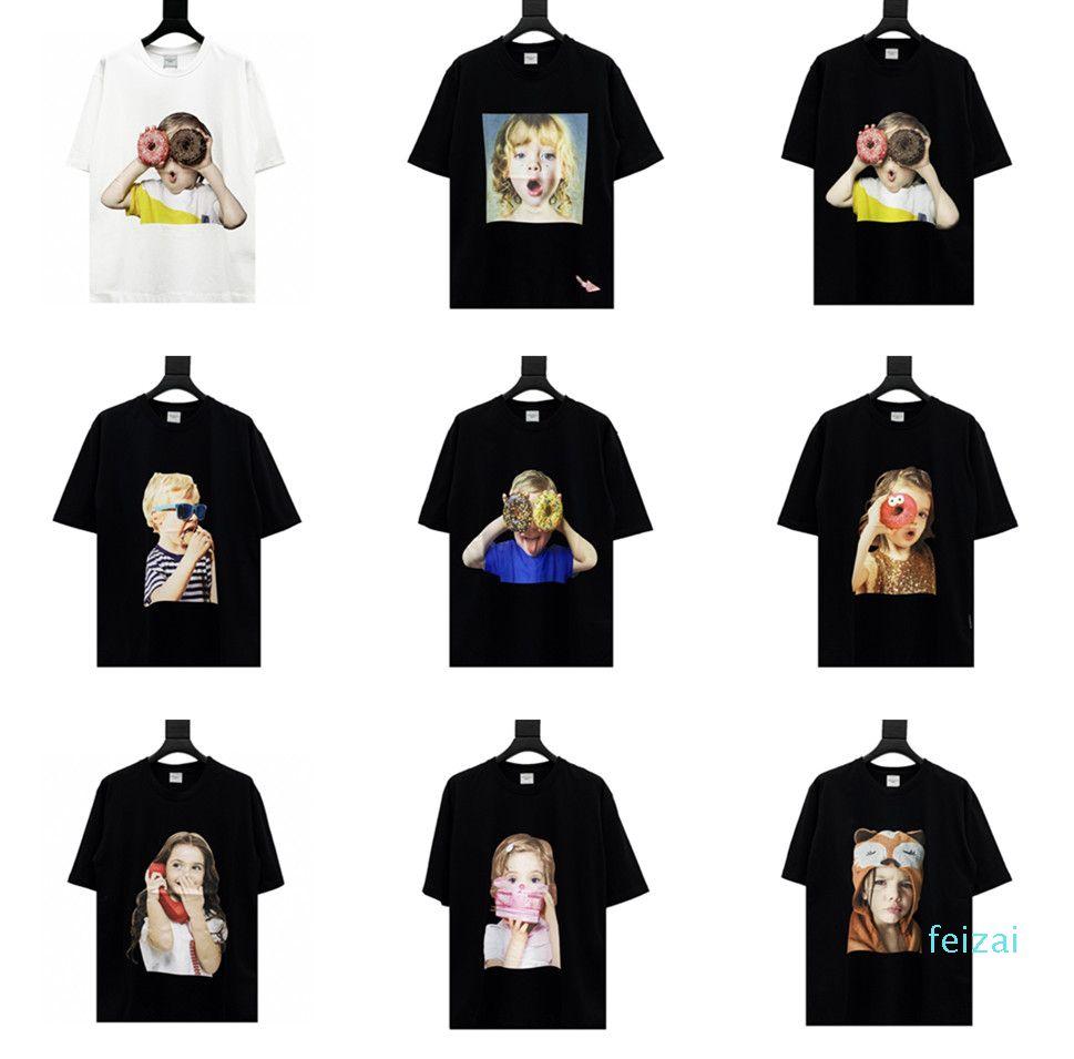 Fashion- Acme De La Vie ADLV Brand Designer Top Quality Men Women T-Shirt Fashion Print Tees Short Sleeve