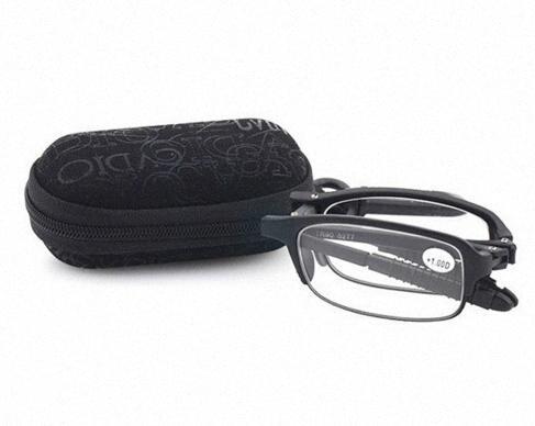 2016 Grande sconto pieghevole TR90 telaio in resina lenti occhiali da lettura Protezione UV per l'anziano Reader con la scatola bxUD #