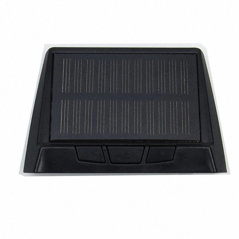 Pour Steelmate-S1i Tpms Tp pneus Système de surveillance de pression sans fil Affichage solaire alimenté par 4 capteurs internes YUFt #