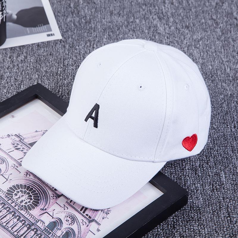 nuevo casquillo bordado de la letra de Corea del hip hop sombrero de verano, un sol de la manera gorra de béisbol ocasional salvaje