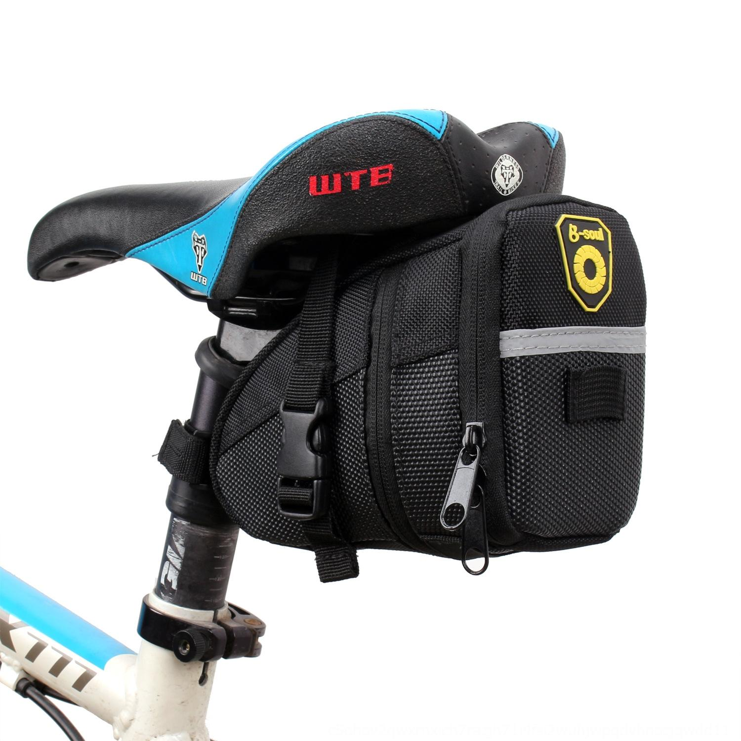bicycle accessories trunk mountain bike cushion seat riding equipment bicycle accessories saddle bag folding trunk bag