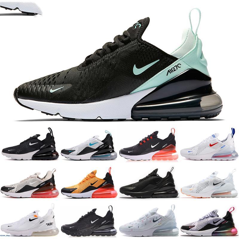 Nike air max 270 Regency púrpura mujeres de los hombres Triple Negro presto blanco Zapatos Tigre Formación TN Plus deportes al aire libre Zapatos zapatillas de deporte 36-45