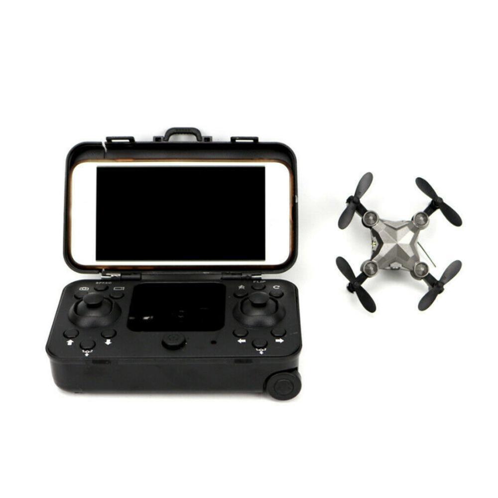 2.4G Mini-Gepäck RC Drohne mit Kamera WIFI Echtzeit-Folding Hubschrauber Luftaufnahmen dron Fernbedienung Quadcopter Spielzeug
