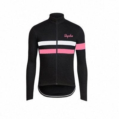 Rapha Herbst und Sommer langärmelige Jersey Anzug Männer und Frauen Bergstraße Selbstfahrer Team Version Team Custom Kleidung 6FDU #