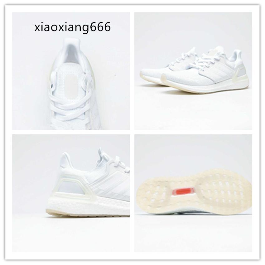 2020 sport occasionnels le jogging chaussettes de style chaussures tricotés chaussures en forme de science-fiction avant-gardiste blanc pur simple, lumineux et capable
