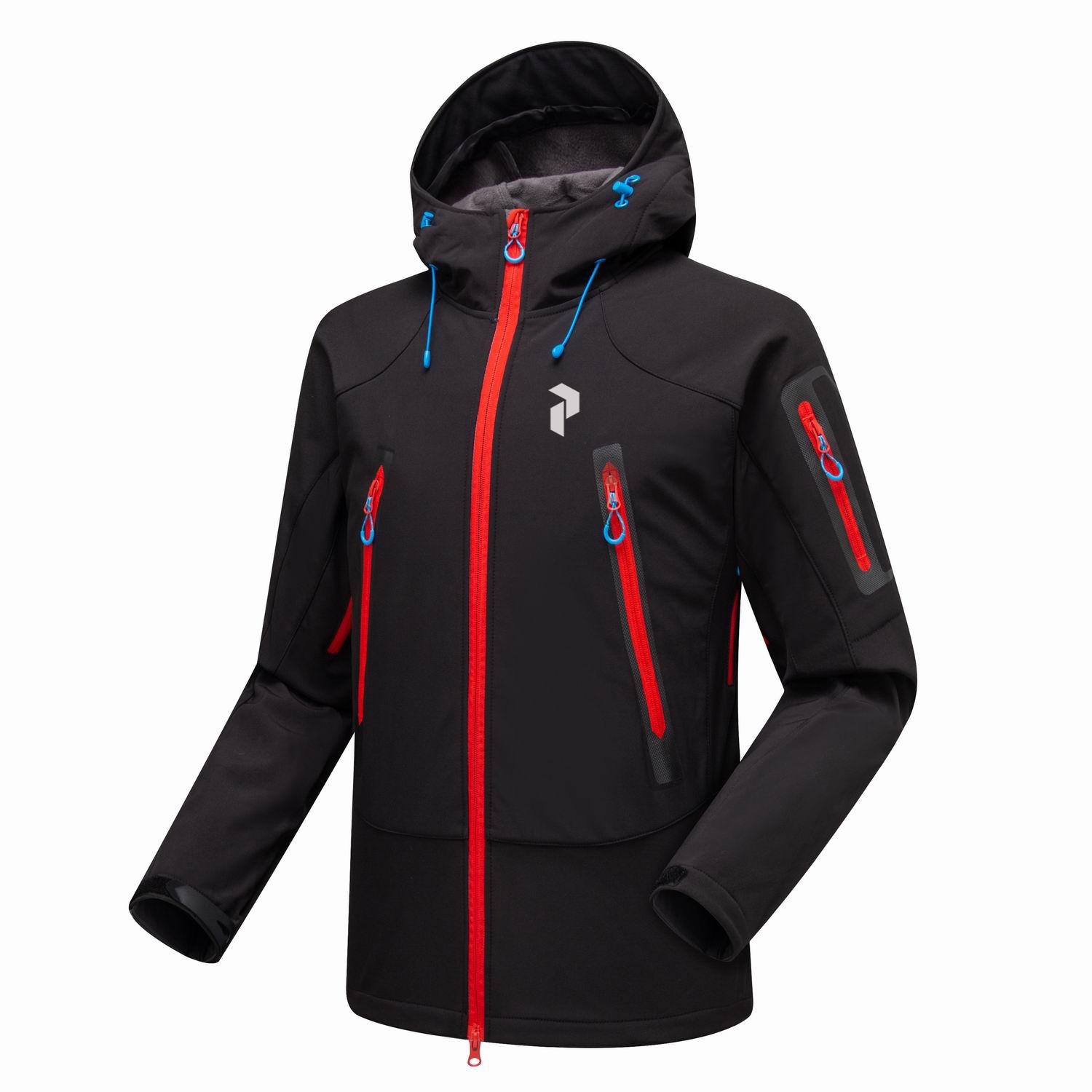 HOT The new autumn and winter PEAK fleece sweater jacket soft shell jackets for men norte face outdoor sports clothes free shipping 01460