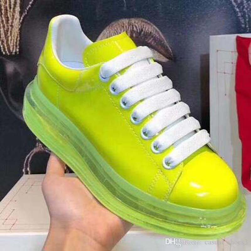 Günlük Ayakkabılar Kadın Erkek Erkek Günlük Yaşam Kaykay Ayakkabı Kristal alt Trendy Platformu Yürüyüş Eğitmenler Siyah Glitter Shinny AA8