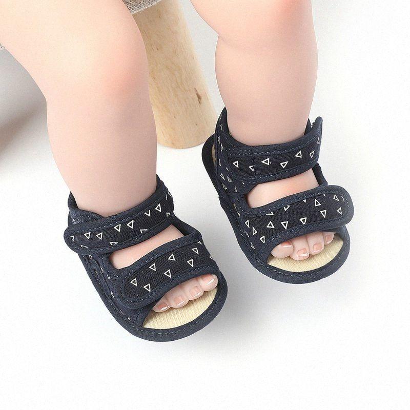 Hot-Baby-Jungen-Sommer-Schuh-Breathable Anti Slip Sandalen Kleinkind weichbesohlte erste Wanderer Schuhe 0 18M Online-Kinderschuhe Einkaufen Günstige BSAE #
